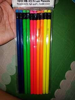 Neon Pencils #2, 10ct