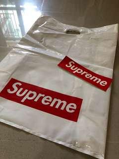 Supreme 膠袋 supreme 貼紙 (包郵)