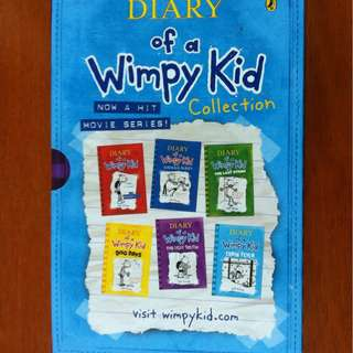 Diary of a Wimpy Kid Box Set Series 1-6
