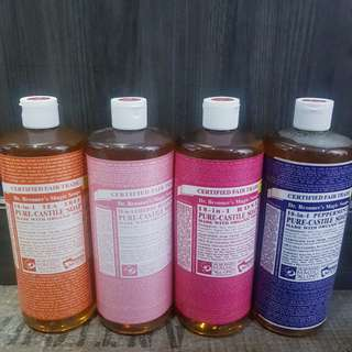Dr Bronner 18-in-1 Pure-Castile Soap