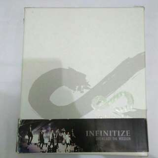 INFINITE THE MISSION SHOWCASE DVD
