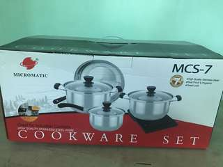 Micromatic Cookware set 7pcs