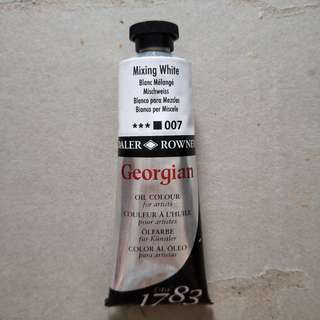 Mixing White Oil Paint