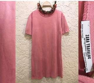 Zara Suede A line Dress