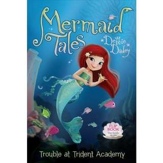 eBook - Trouble at Trident Academy (Mermaid Tales #1) by Debbie Dadey