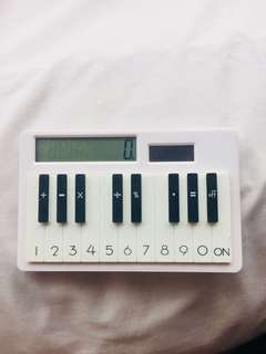 Piano calculator digital