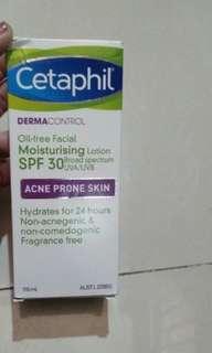 Cetaphil mouiturising lotion spf30
