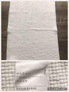 IKEA white toggle bath mat