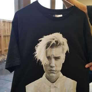 Justin Bieber Merch - Size Large