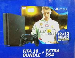 Kredit PS4Slim + FIFA 18 Bundle +Extra DS4 Tanpa Kartu Kredit Proses 3