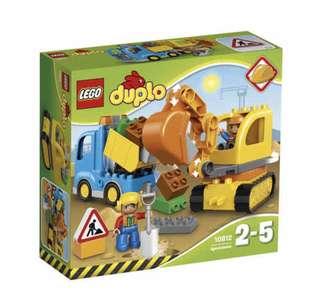 LEGO DUPLO Truck & Tracked Excavator - 10812