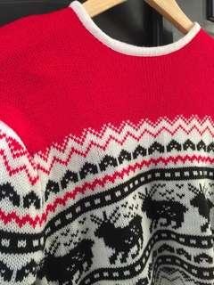 sweater/atasan crop tee