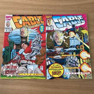 Cable mini series comic