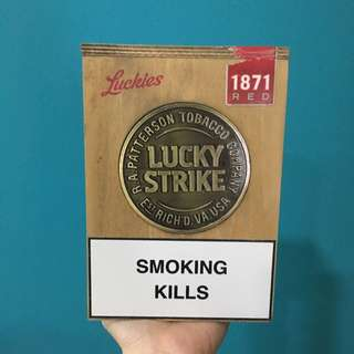 LUCKIES Cigarette box