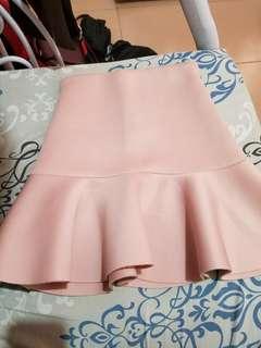 Korean Peplum Skirt