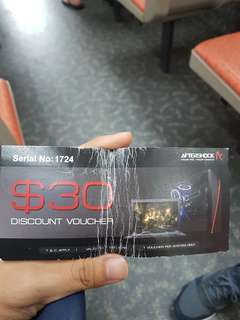 $30 discount voucher