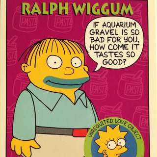 1994 Skybox Simpsons Series 2 - Base Card #S36 - Ralph Wiggum