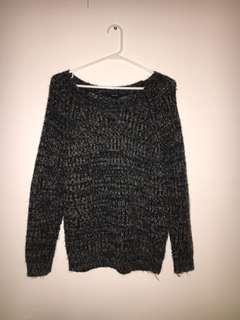 Salt Pepper Knit Sweater