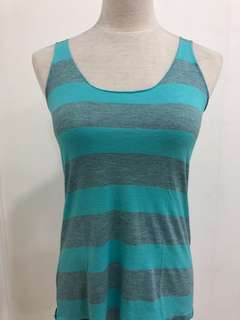 #17 Blue and Grey Tank Top
