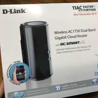 D-Link AC1750 Wireless DualBand Gigabit Cloud Router (cheap)