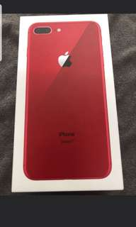 WTT: iPhone red 8 plus 64gb for iPhone X 64/256gb