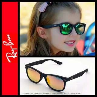 Rayban junior wayfarer sunglasses 3-12 years old kids