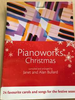 Piano works Christmas