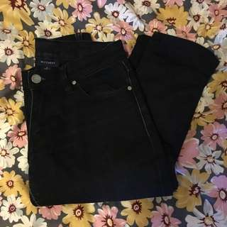 WITCHERY 6 Black Jeans