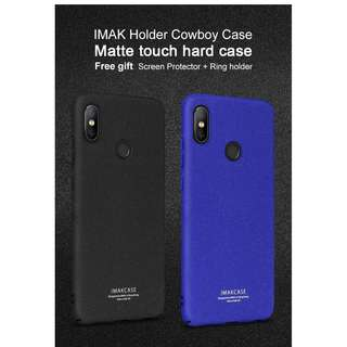 Imak Cowboy Quicksand Hard Case for Xiaomi Redmi Note 5 Pro