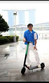 Free Delivery Today - LTA COMPLIANT SEGWAY NINEBOT ES2