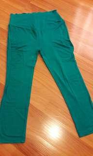 9Months Maternity Leggings sizeM (turquoise)