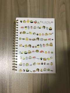 🎈BNIP INSTOCK Sumikko Gurashi A5 Notebook with Gold Binder