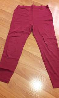 9Months Maternity Leggings sizeM (mulberry)
