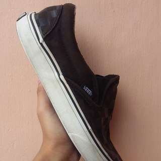 Vans checkerboard black