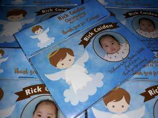 Ref Magnets Christening Souvenirs