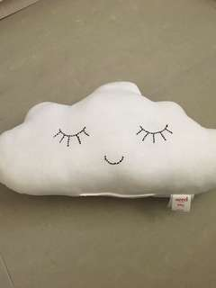 Clouds pillow from Seed
