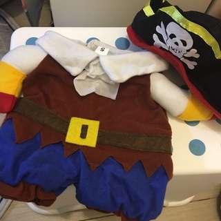 海盗狗狗衣服