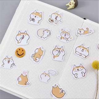 🐶BNIB INSTOCK Adorable Dog Stickers [FREE NORMAL MAILING ✉️]