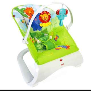 Fisher Price Safari Baby Bouncer