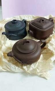 Old Yixing Zisha Teapots