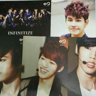 INFINITE INFINITIZE SHOWCASE POSTCARD
