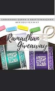 Ramadan Giveaway #kksqgiveaway