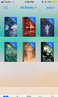 Percy Jackson Series (ebook - epub)