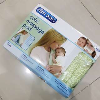 FIRST YEARS COLIC MASSAGE PAD