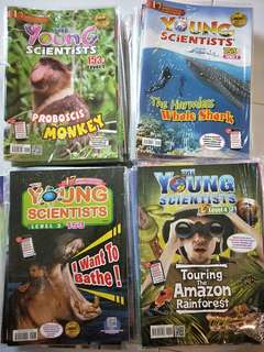 The Young scientists 2016 level 1-4 40+40books