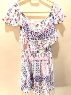 Cotton On Off-shoulder Dress
