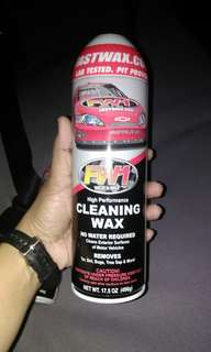 FW1 Waterless High Performance Wax