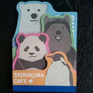 Shirokuma Cafe Memo Pad