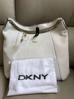 全新 DKNY 白色手袋