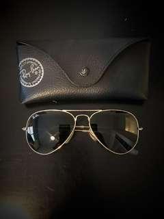 Ray ban aviator sunglasses- black
